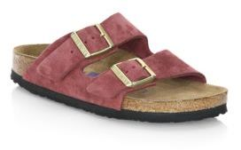 Birkenstock Arizona Suede Slides