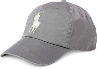 Polo Ralph Lauren Men's Big Pony Chino Cotton Baseball Cap