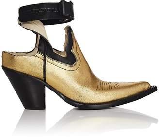 Maison Margiela Women's Vegas Cutout Leather Ankle Boots