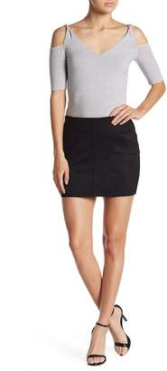 Bailey 44 Faux Suede Mini Skirt