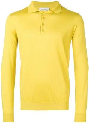 Laneus long-sleeve polo shirt