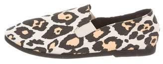 Stella McCartney Printed Slip-On Flats