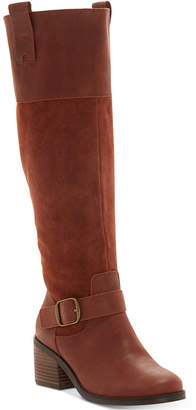 Lucky Brand Women's Kailan Riding Boots Women's Shoes