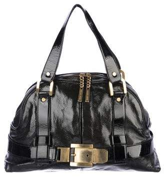 Michael Kors Patent Leather Buckle Bag