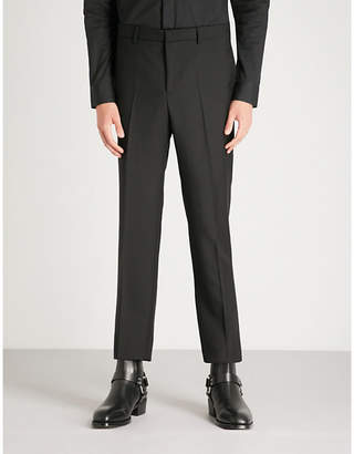 Givenchy Slim-fit tapered wool and mohair-blend trousers