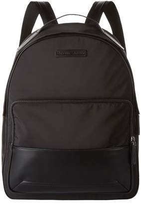 Emporio Armani Faux Leather Trim Backpack