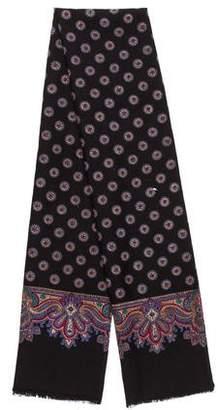 Christian Dior Wool Printed Scarf