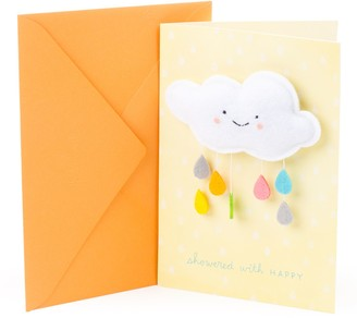 "Hallmark Signature Baby Shower ""Happy Cloud"" Greeting Card"