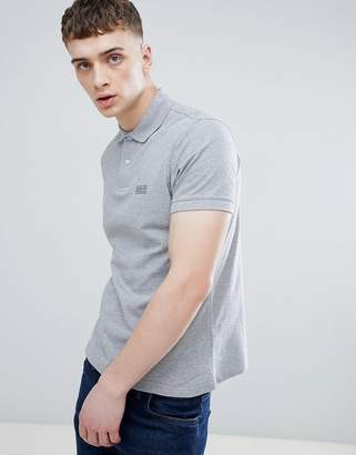 Barbour International Essential Polo in Gray