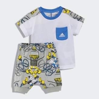 adidas (アディダス) - I グラフィック Tシャツ&ロークロッチパンツ 上下セット