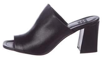 Maryam Nassir Zadeh Penelope Leather Slide Sandals