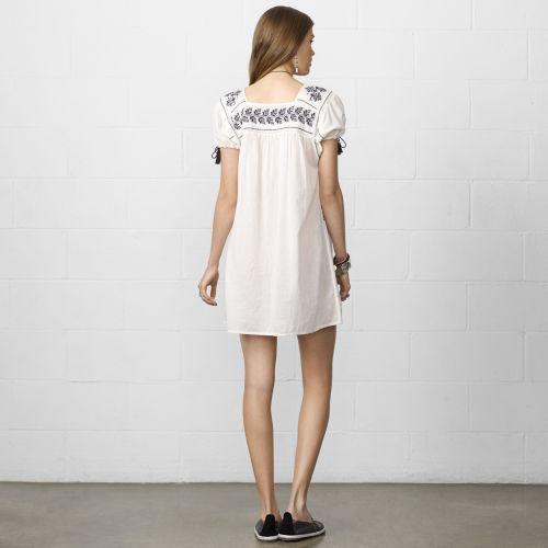Denim & Supply Ralph Lauren Cotton Peasant Dress