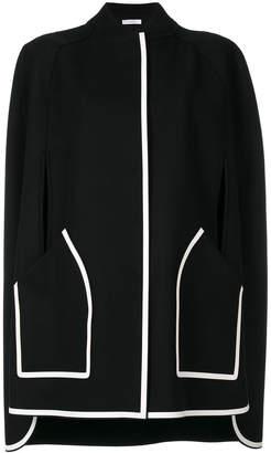 Versace snap fastening cape