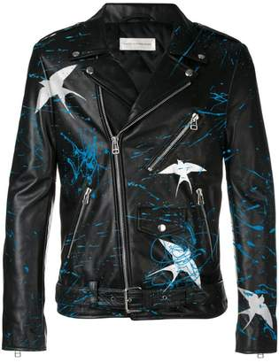 Faith Connexion customizable men's leather jacket