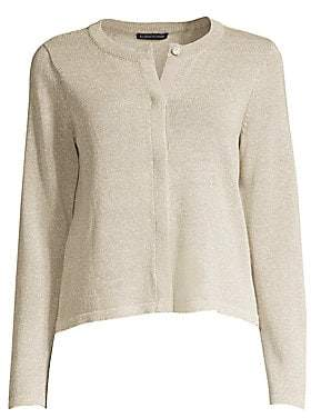 Eileen Fisher Women's Recycled Cotton Cardigan