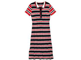 Tommy Hilfiger Adaptive Polo Dress with Magnetic Buttons