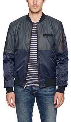 Members Only Men's Deftone Bomber Jacket