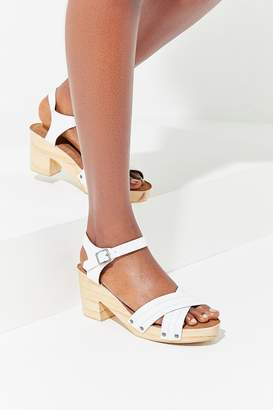 Urban Outfitters Celeste Wooden Sandal