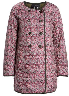 J.Crew Liberty Catesby Floral Reversible Puffer Jacket