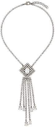 Christopher Kane crystal rain necklace