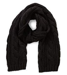 Gregory Ladner Cable Knit Scarf