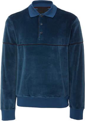 Prada Velvet Polo Shirt