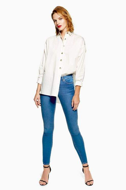 Mid Blue Leigh Jeans