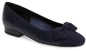 Women's Vaneli Favor Bow Flat $119.95 thestylecure.com