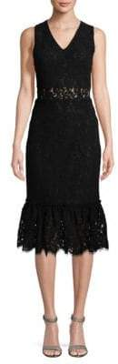 Alexia Admor Lace Midi Dress