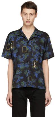 John Elliott Multicolor Tropical Bowling Shirt