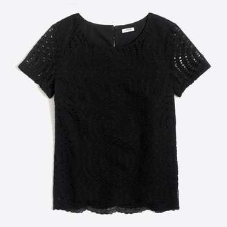 J.Crew Factory Lace T-shirt