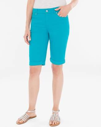 Of the Moment So Slimming Girlfriend Shorts- 12 Inch Inseam