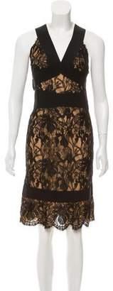 Emilio Pucci Lace Bandage Dress