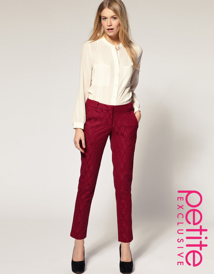 ASOS PETITE Exclusive Lace Skinny Pants