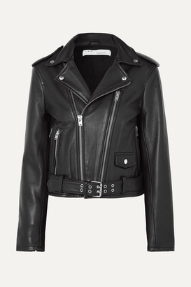 IRO Illusive Leather Biker Jacket - Black