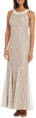 R & M Richards R&M Richards Lace Gown
