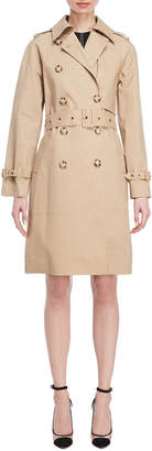 Stella McCartney Double-Breasted Belted Trench Coat