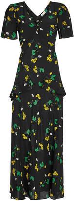 RIXO LONDON Evie Silk Dress