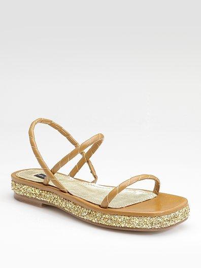 Marc Jacobs Flat Sandals
