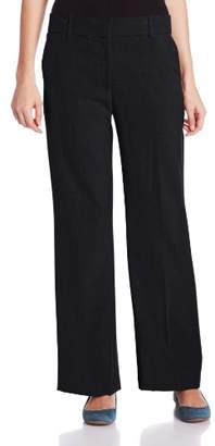 Briggs New York Women's Perfect Fit Straight-Leg Pant