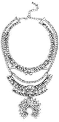 BaubleBar Ariadne Warriror Choker & Bib 2-Piece Necklace Set