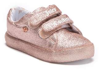 Juicy Couture Glitter Fashion Sneaker (Toddler)