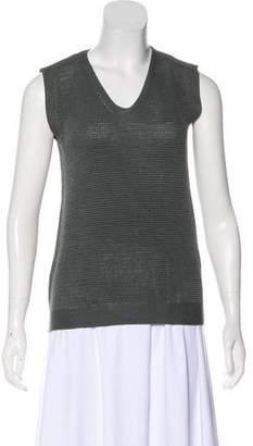 Hermes Silk Sleeveless Sweater