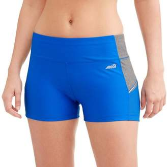 Avia Women's Need For Speed Short With Built-In Contrast Side Pocket