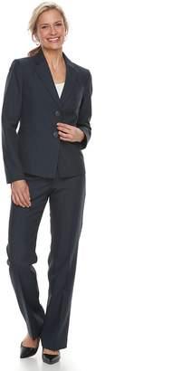 Le Suit Women's Notch Collar Jacket & Pant Suit