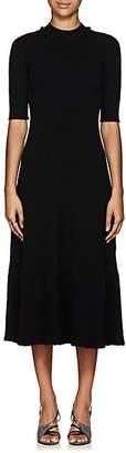 Proenza Schouler Women's Rib-Knit Fit & Flare Sweaterdress - Black