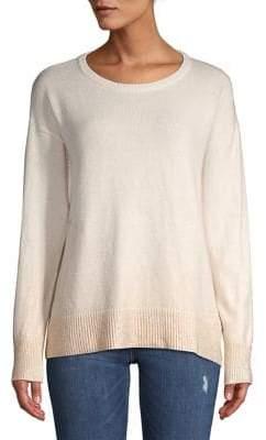 Vince Camuto Petite Knit Foil Sweater