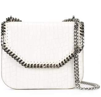 Stella McCartney crocodile-effect Falabella box shoulder bag