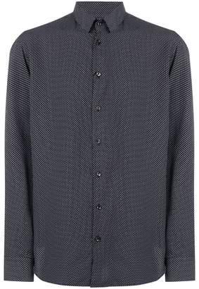 Giorgio Armani geometric print shirt