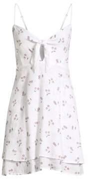 Rails August Cut Out Cherry-Print A-Line Dress